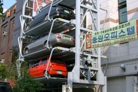 Nowoczesne parkingi